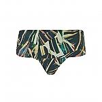 Wow omslag bikinibroekje palm leaves