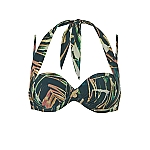 Wow multiway bikinitop Palm Leaves