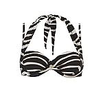 Wow multiway bikinitop zebra