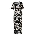 Wow wikkel jurk zebra
