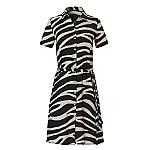 Wow shirt dress zebra