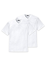 Schiesser American T-Shirt V-Hals 2-Pack