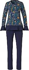 Pastunette deluxe pyjama botanic