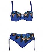 Opera wild blue bikini