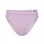 Beachlife Lilac Check bikini broekje