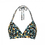 Beachlife mystic animal halter bikini top