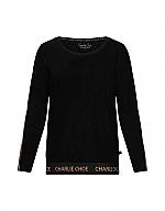 Charlie Choe Blossom shirt velour