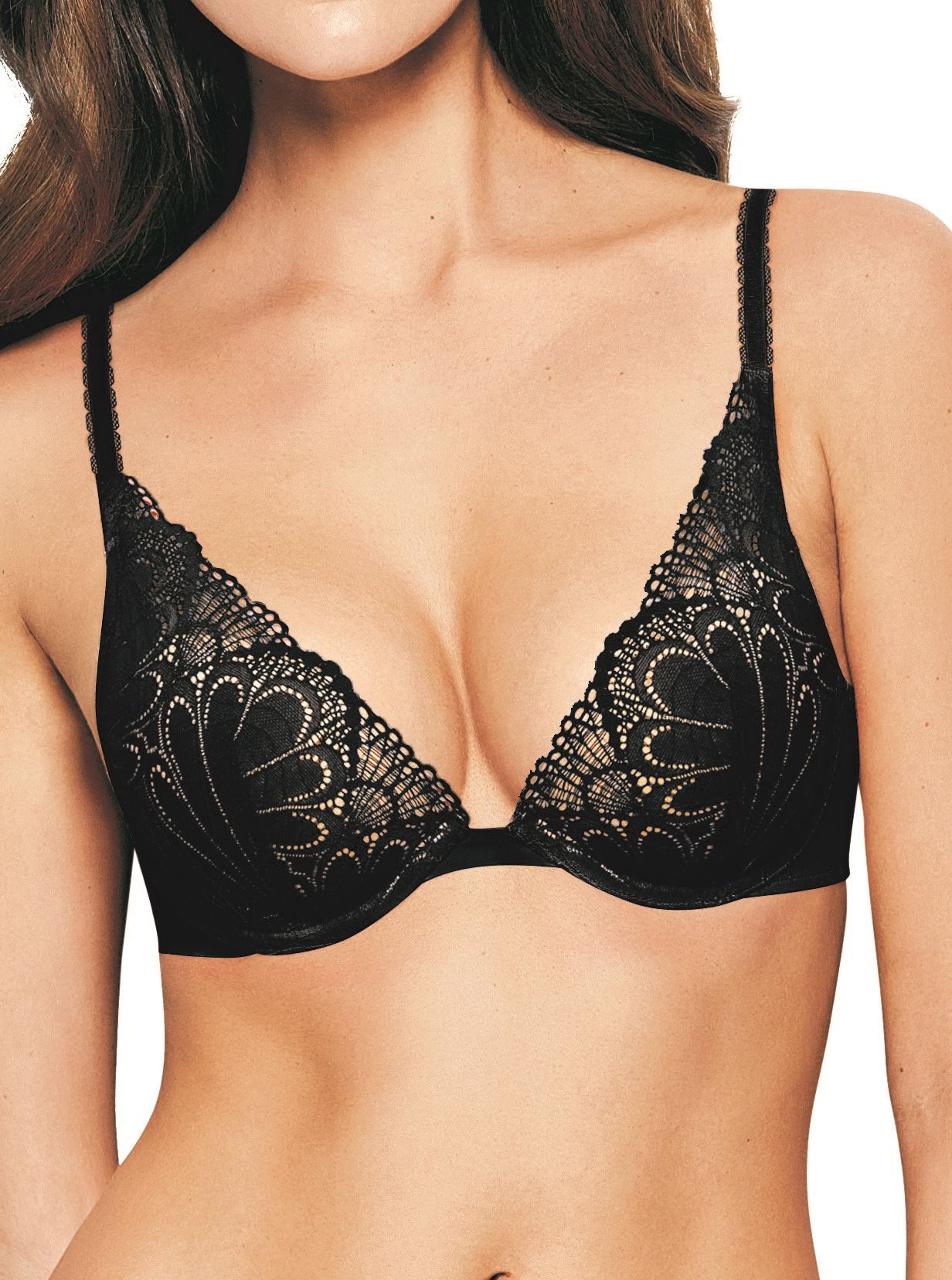 Wonderbra Glamour triangle push up bh