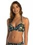 Beachlife mystic animal halter bikini top